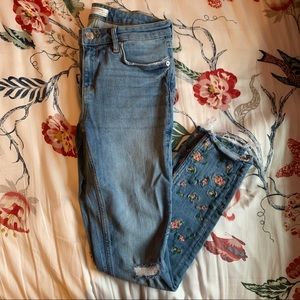 Zara ankle length Skinny Jeans